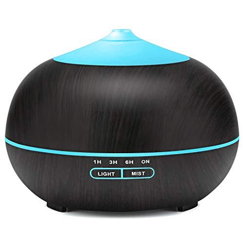 5L Umidificatore Ambiente Bambini,TENSWALL Umidificatore Ultrasuoni Max Lavoro 42 Ore Spegnimento Automatico Senza Acqua
