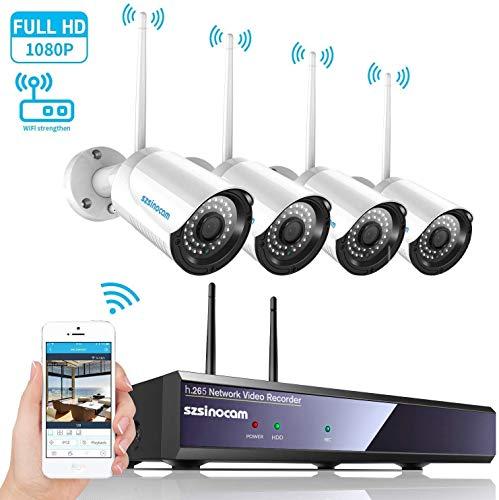 Telecamera Wifi Esterna senza fili Pan 360 /° 5 X Zoom Ottico Impermeabile 66 Motion Detection Visione Notturna fino a 50m Ctronics 5MP PTZ IP Dome Telecamera di Sorveglianza Audio a 2 Vie