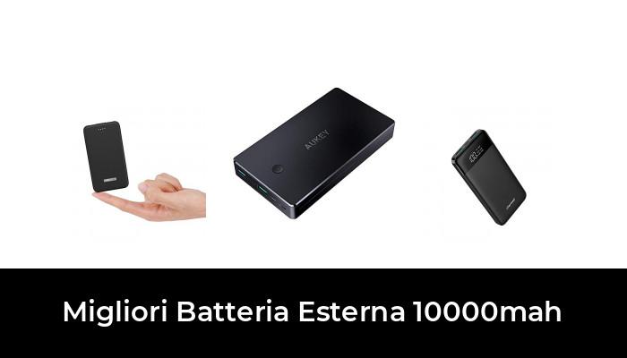 ECC. Batteria Esterna 10000 mAh Ultra compatta Anker PowerCore Slim 10000 Caricatore Portatile Ultra Sottile Samsung Galaxy Power Bank con Ricarica VoltageBoost e PowerIQ Ultra Veloce per iPhone