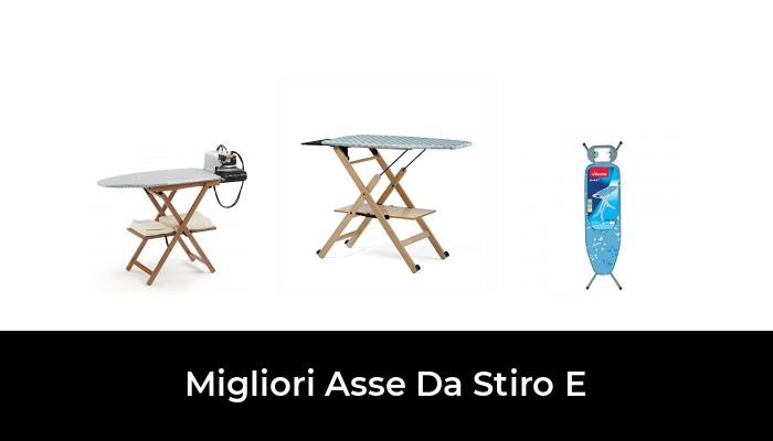 Trasportabile acciaio Vileda Smart Plus Asse da Stiro con Poggiaferro e Presa Elettrica Piano Stiro 114 x 34 cm Blu Regolabile in Altezza
