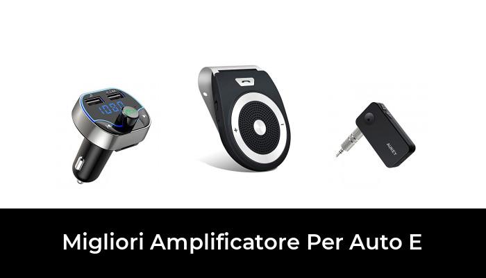 takestop/® Kit Completo Cavi Audio RCA per ISTALLAZIONE Amplificatore Alimentazione in Auto