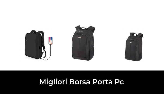 BOTRE Uomo Donna Borsa a Tracolla Borsetta Borsa per PC Portatili 13-15.6 Pollici e Tablet 14Pollici, Blu Scuro
