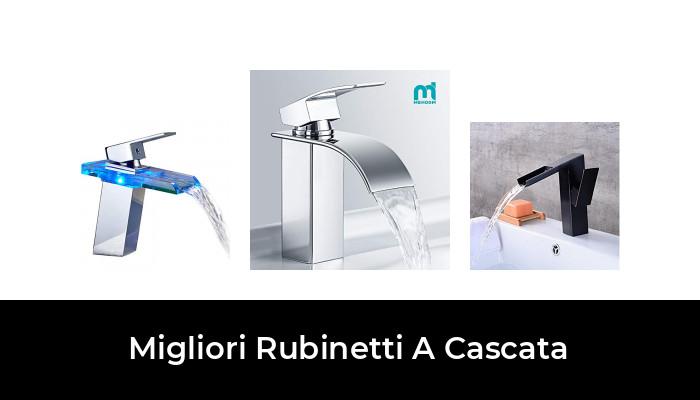 Cromato Auralum Miscelatore Curvo Bagno Rubinetto Moderno Monoforo Rubinetteria Cascata Monocomando Per Lavabo In Ottone Cromato