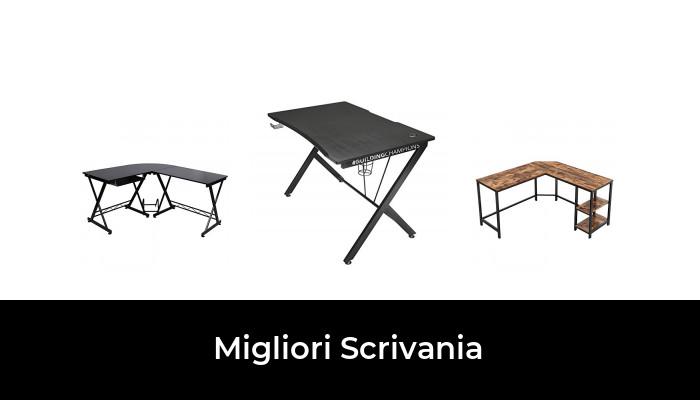 WOLTU TS108ws Scrivania Angolare con Mensola a 3 Ripiani per Ufficio Tavolo Porta Computer in Legno Bianco