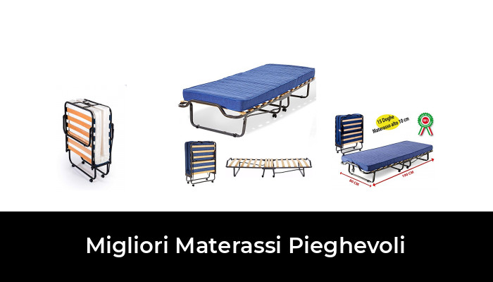 Singolo Bianco miasuite i sogni italiani Easy Materasso Memory Water Foam 80 x 195 cm
