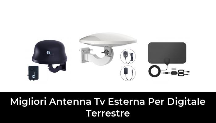 portata 190 km amplificatore di antenna TV HD 2020 supporto di canali locali gratuiti 4K HTQ Antenna TV interna