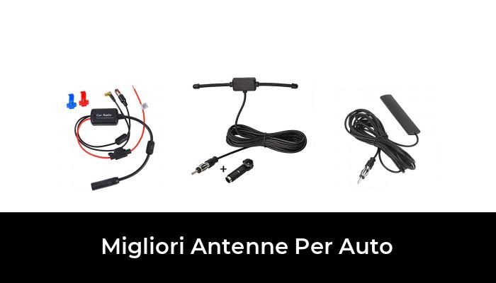 LLHAI Adesivi Auto compatibili per Auto Shark Antenna Decorazioni Auto del Segnale Radio Antenne piedistallo Accessori Copertura con Jeep Compass 2017+