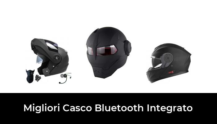 FM DOT Certification Flip Up Touring Caschi Auricolare Bluetooth Dual-Speaker Integrato con Microfono per la Risposta Automatica GNB Caschi Moto modulari Bluetooth