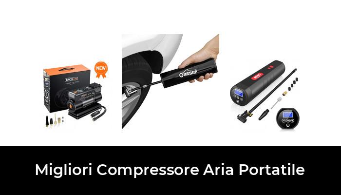 TACKLIFE X1 Compressore Aria Portatile Auto Auto e Altri gonfiabili 2200mAh Mini Pompa Elettrica Ricaricabile con Display Digitale per Pneumatici da Bicicletta