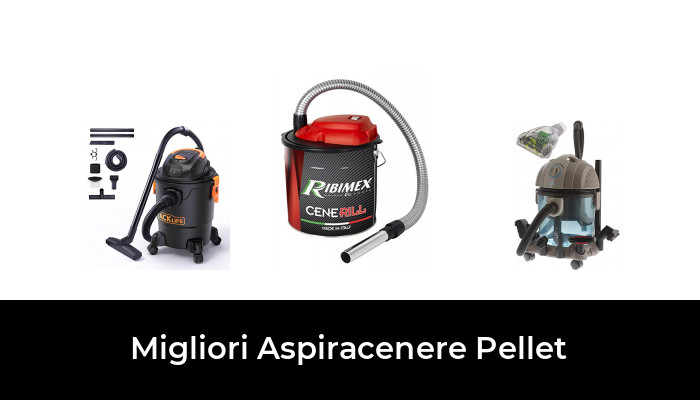 ASPIRACENERE BIDONE ELETTRICO CENERILL 18L 1000W PULIZIA STUFA RIBIMEX PRCEN001