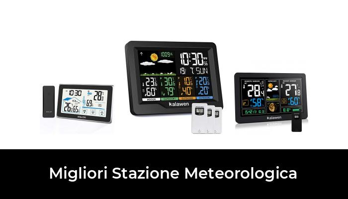 Bresser Stazione meteorologica 5-in 1 con sensore all/'aperto e Tedesco DCF Radiocomando