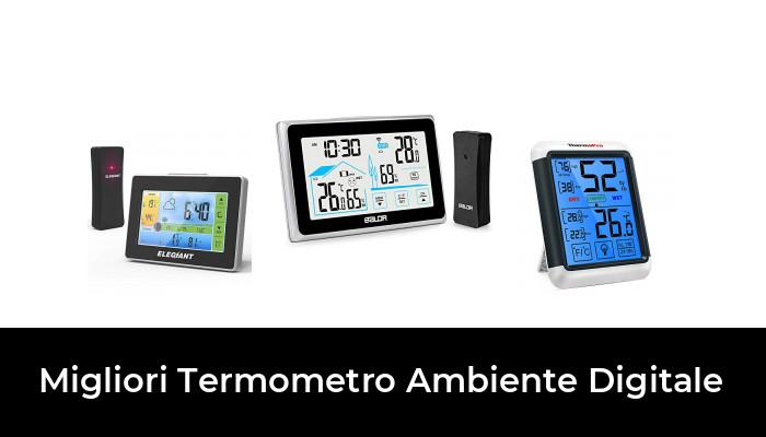 42 Migliori Termometro Ambiente Digitale Nel 2020 Recensioni Opinioni Prezzi Termometro ambiente con caratteristiche ad elevata affidabilità termometro ambiente sono stati prodotti per la prima volta da james six nel 1782 e di. termometro ambiente digitale